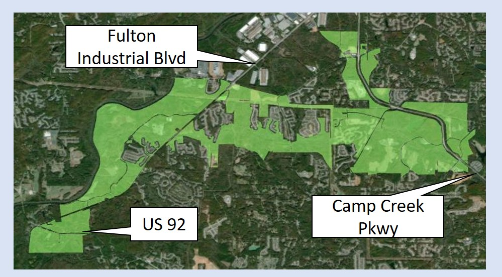 South Fulton Proposed WestSide TAD