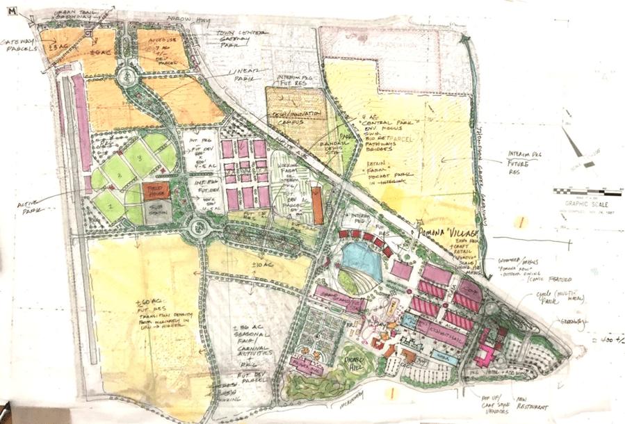 Map of Fairplex Pomona courtesy of ULI