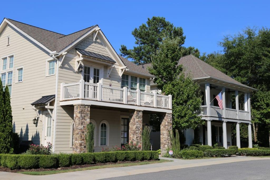 Single-family residential housing in Woodstock, GA