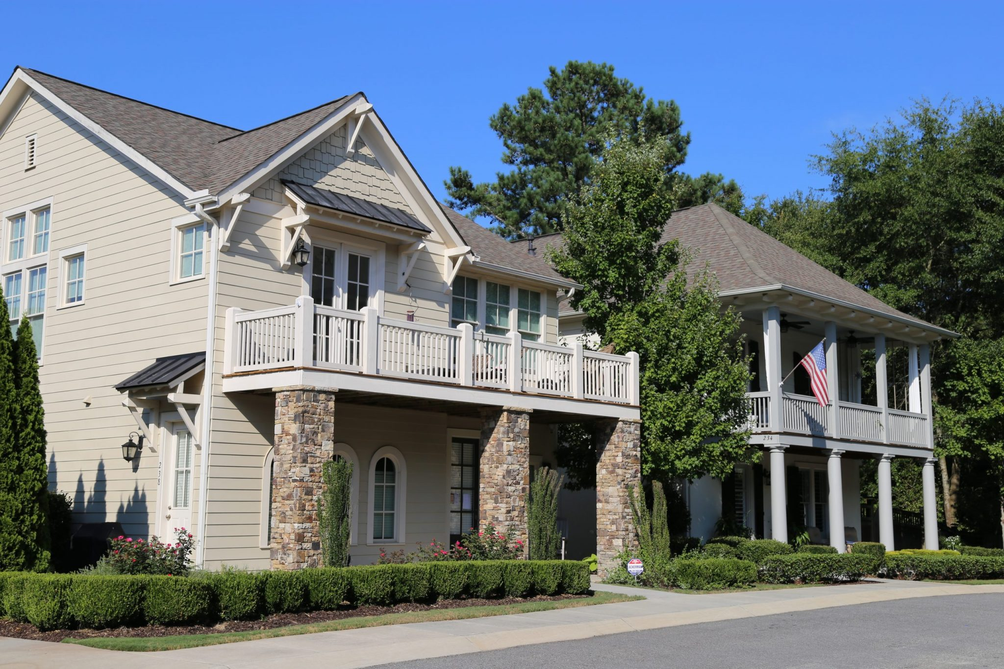 Single-family residential housing in Woodstock, GA